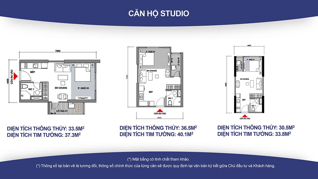 Studio Vinhomes Ocean Park