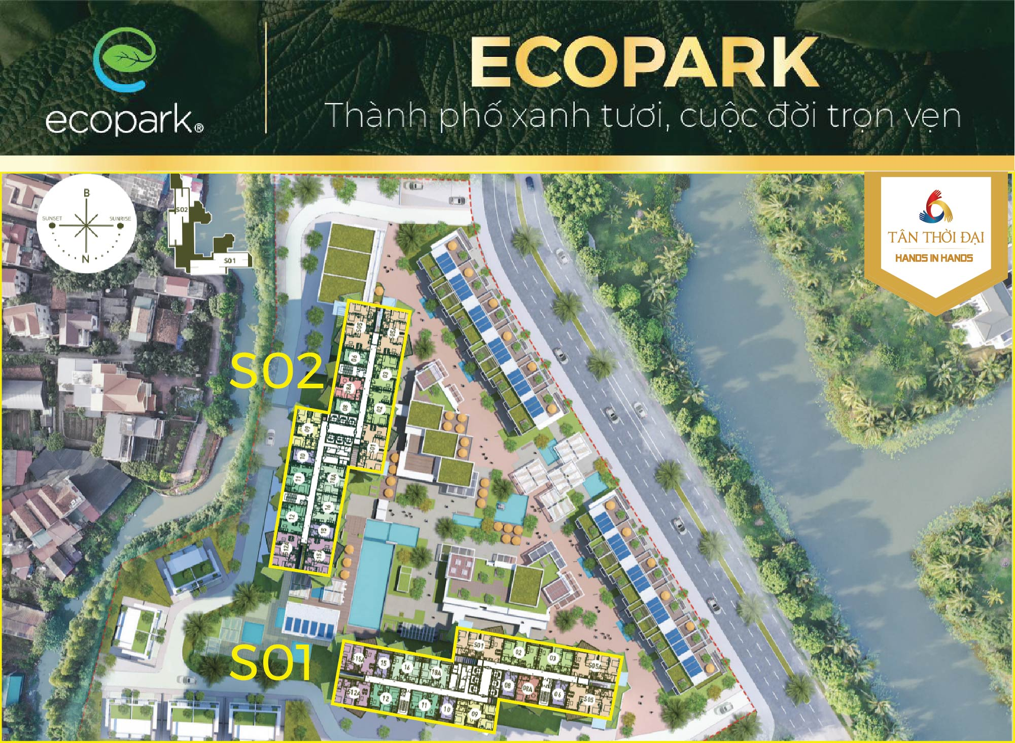 Vị trí Sol Forest Ecopark