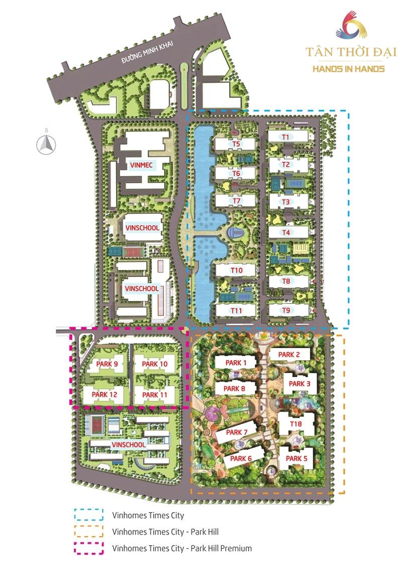 Vị trí vàng của dự án căn hộ thông minh Park Hill Premium