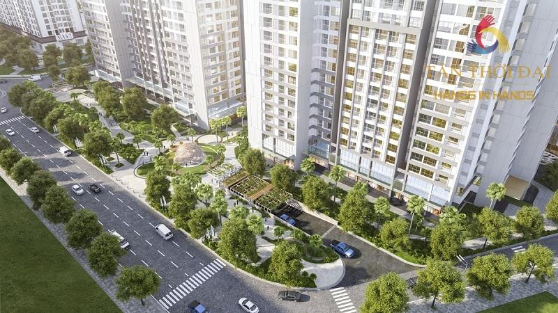 kế thừa không gian xanh và không gian sống resort trong lòng đô thị