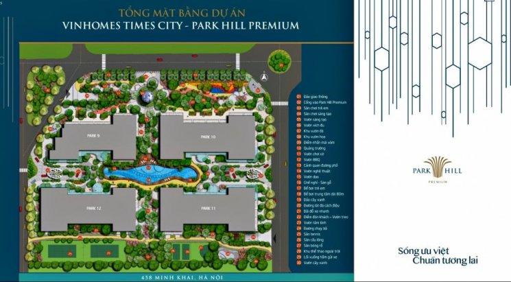 Mặt bằng căn hộ Park Hill Premium
