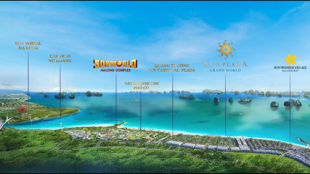 Quần thể dự án Sun Group Quảng Ninh