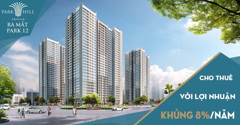 Ra mắt tòa căn hộ Park 12 thu hút nhà đầu tư bất động sản