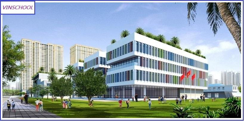 Khuôn viên trường học Vinschool Hà Nội - Trường học đạt tiêu chuẩn quốc tế