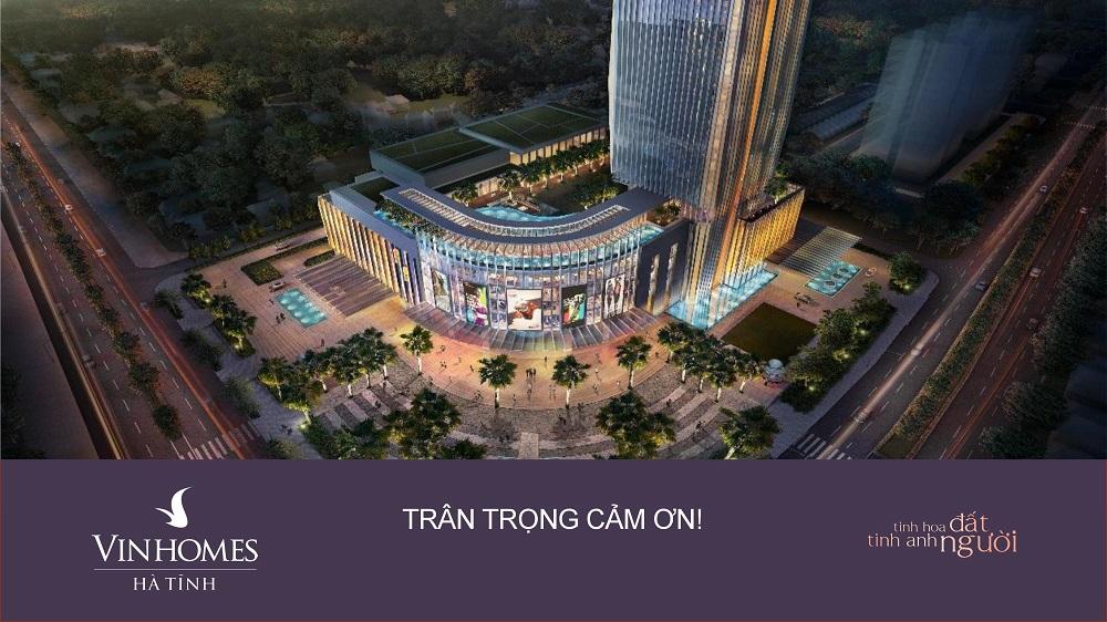Tổng thể dự án Vincom  Hà Tĩnh sẽ mang tới một cái nhìn mới về 1 Thành Phố Bắc Trung Bộ