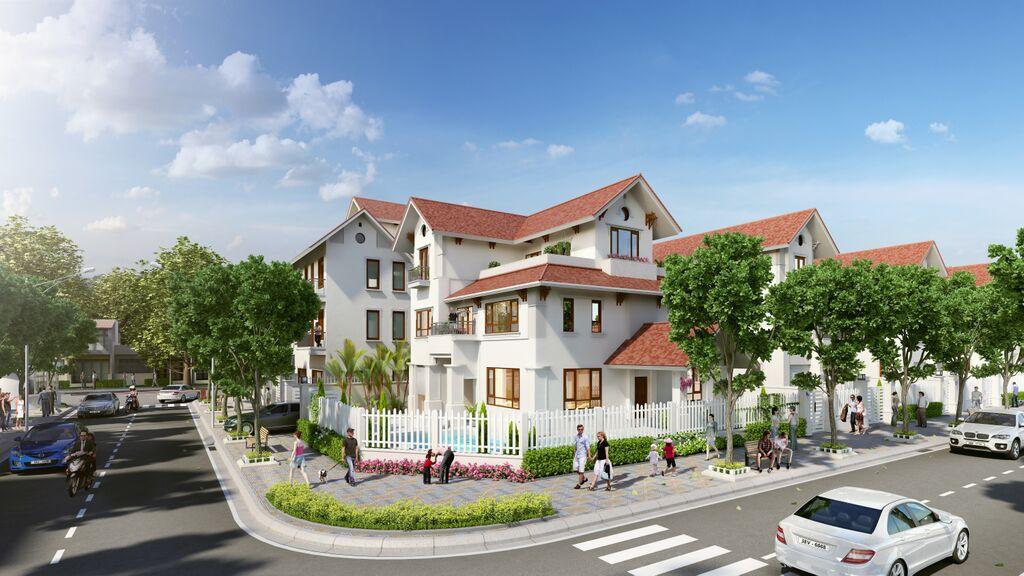 Hình ảnh căn hộ biệt thự Vinhomes Hà Tĩnh